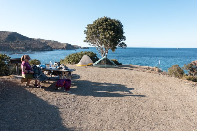 Backpacking Guide For The Trans Catalina Trail In California